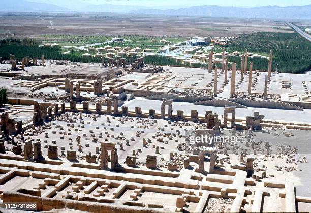 In October 1971 the Shah of Iran and his wife the Shahbanu hosted a lavish party in the ruins of Persepolis to celebrate the 2500th anniversary of...