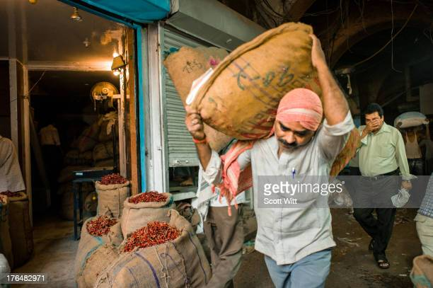 CONTENT] In Old Delhi just off Khari Baoli Road is a 4 story building which is ground zero for the Indian Spice trade The air is thick with...