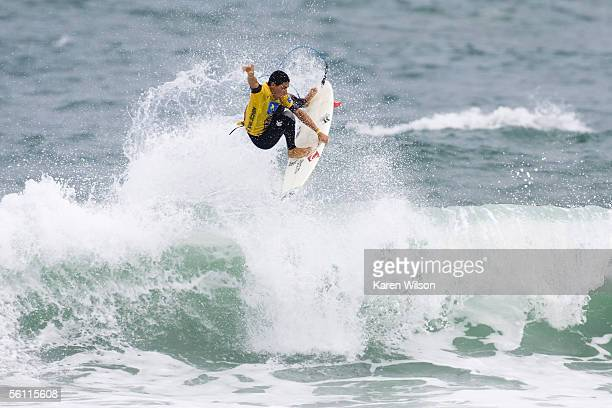 in one of the most anticipated heats of the contest wildcard and crowd favorite Heitor Alves of Ceara Brazil faces current ASP world number two and...