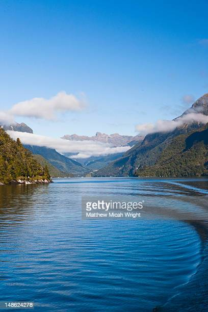 In order to get to Doubtful Sound, you must take the ferry across Lake Manapouri as there is no road to the area.