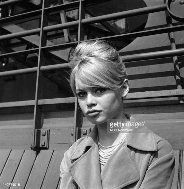 TODAY 'TODAY in Paris 1959' Pictured French actress Brigitte Bardot at the Eiffel Tower in Paris from April 27 May 1 1959 Photo by NBC/NBC NewsWire