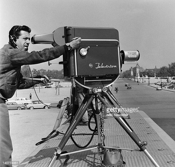 TODAY 'TODAY in Paris 1959' Pictured NBC cameraman in Paris France from April 27 May 1 1959 Photo by NBC/NBC NewsWire