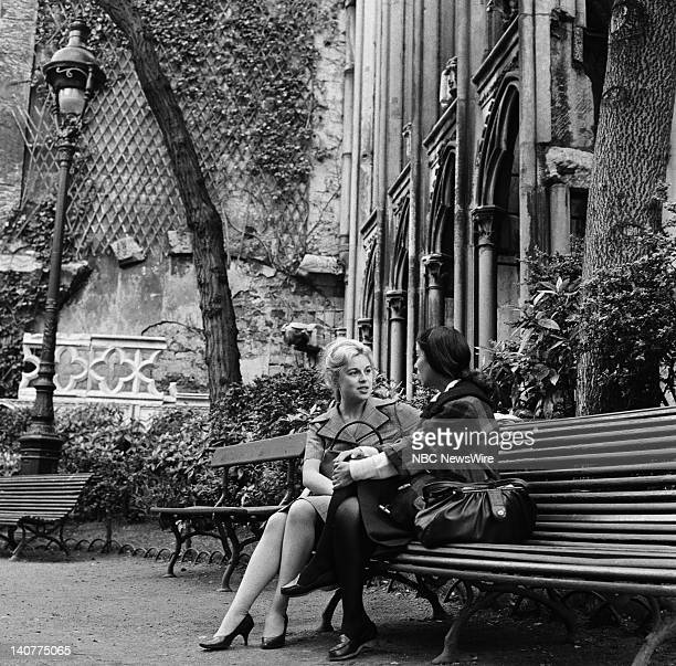 TODAY 'TODAY in Paris 1959' Pictured Women in Paris France from April 27 May 1 1959 Photo by NBC/NBC NewsWire