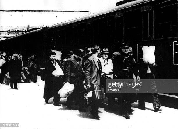 In Paris raid of May 15 1941 4 trains left for Pithiviers and BeaunelaRolande May 15 France World War II Jewish Documentation Center