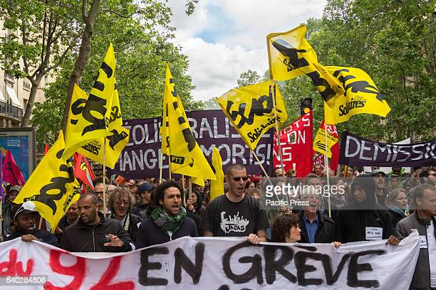 In Paris the capital of France thousands demonstrated against the new labor reforms of the socialist party of Francois Holland The demonstration...