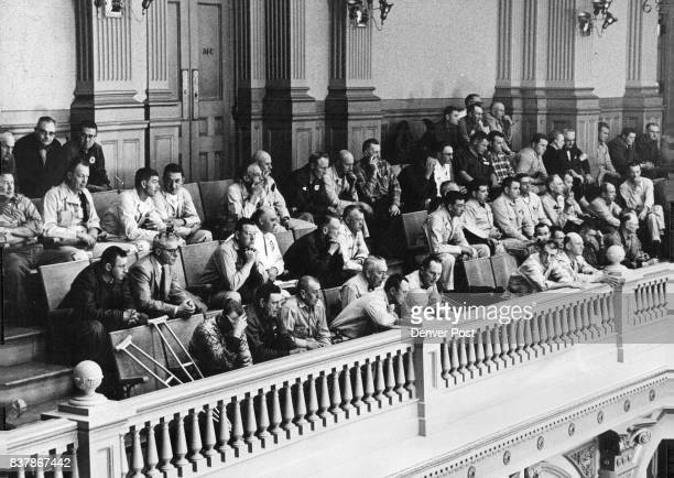 In past sessions of the legislature bills on trading stamps have drawn throngs of service station operators to the Statehouse to hear debate This...