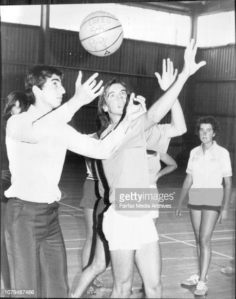 In Picture during the Match also in picture Peter RobbinHis Imperial Highness The Crown Prince of Iran Prince Reza Pahlavi visited the Sport and...