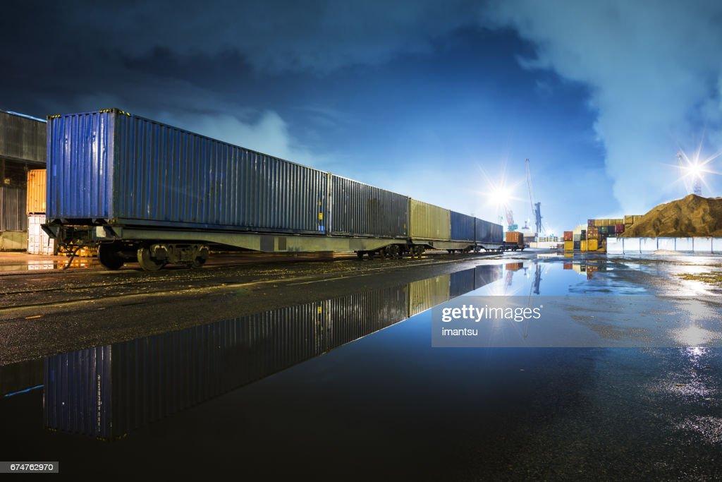 In port : Stock Photo