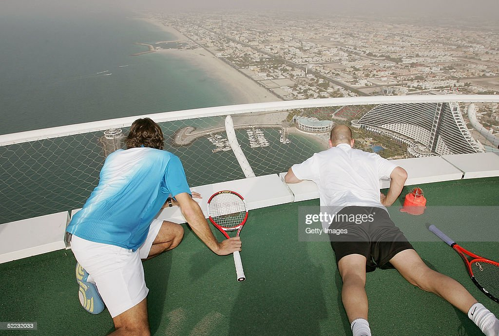 Dubai Tennis Championships : News Photo