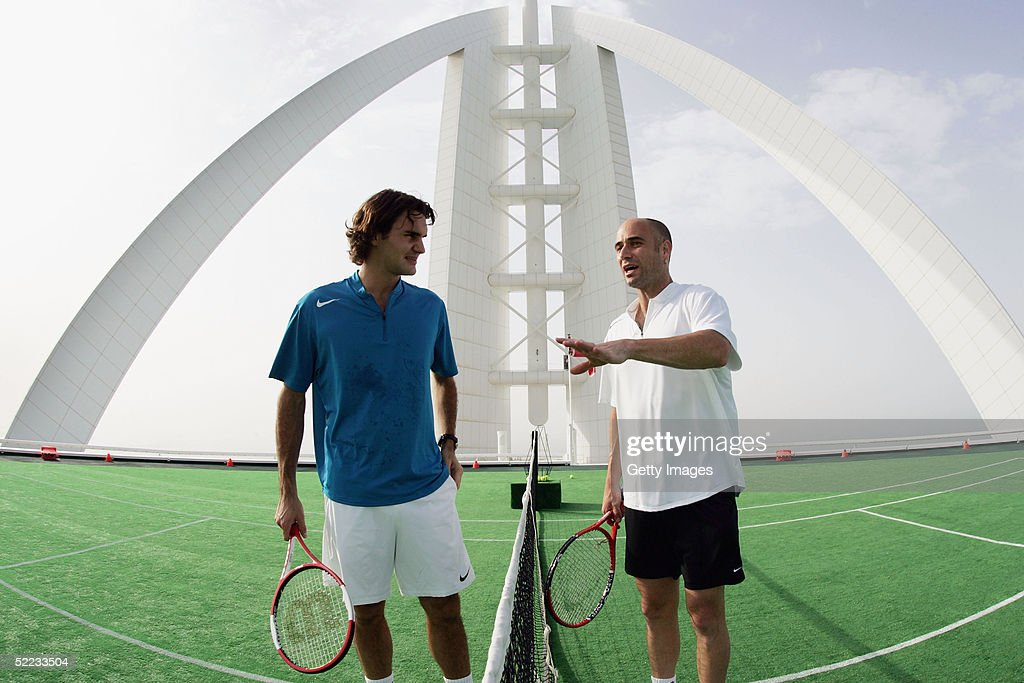Dubai Tennis Championships : News Photo