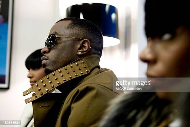 DIDDY in promotional tour for her new album 'Last train in Paris' with his band DIRTY MONEY London January 20 2011 DIDDY and singers Kalenna Harper...