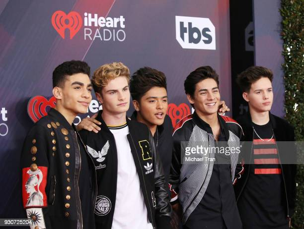 In Real Life arrive to the 2018 iHeartRadio Music Awards held at The Forum on March 11 2018 in Inglewood California