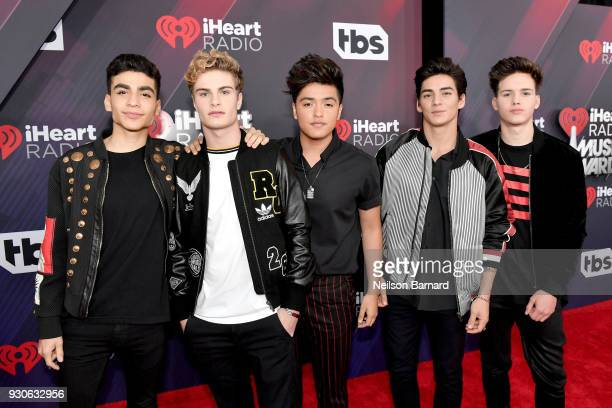 In Real Life arrives at the 2018 iHeartRadio Music Awards which broadcasted live on TBS TNT and truTV at The Forum on March 11 2018 in Inglewood...