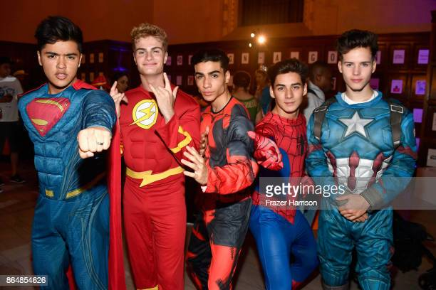 In Real Life at the Dream Halloween 2017 Costume Party Benefitting Starlight Children's Foundation presented by Michaels and Aaron Brothers at The...