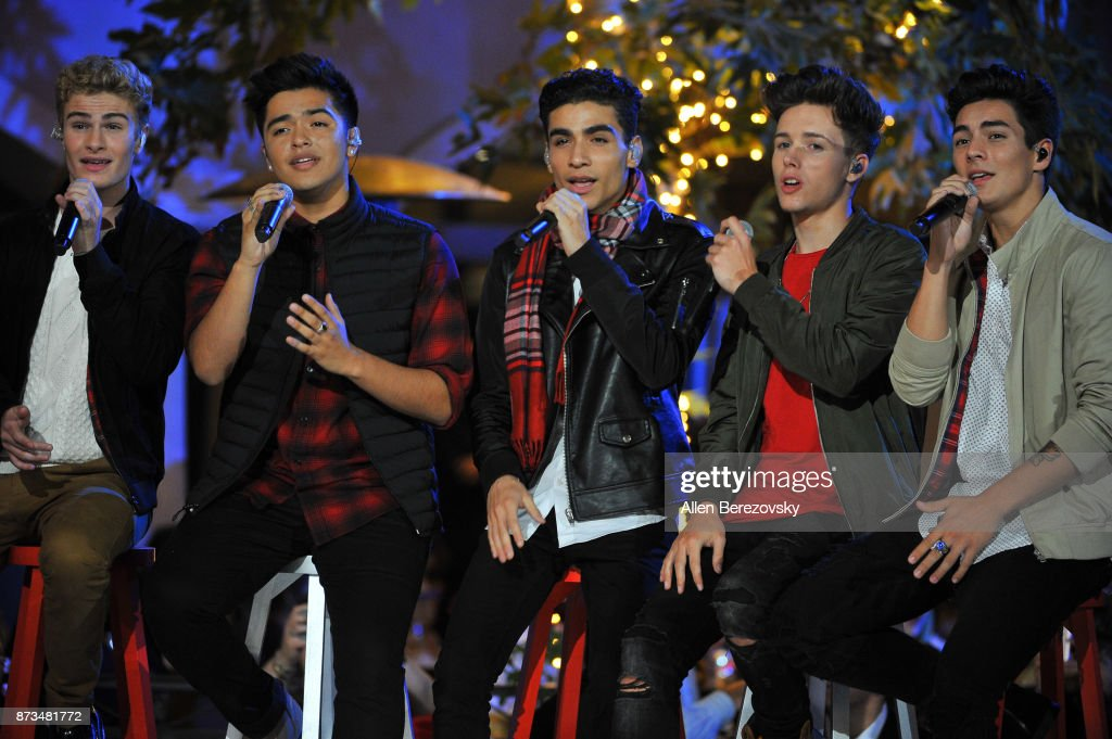 In real Life performs onstage at A California Christmas at The Grove Presented by Citi on November 12, 2017 in Los Angeles, California.