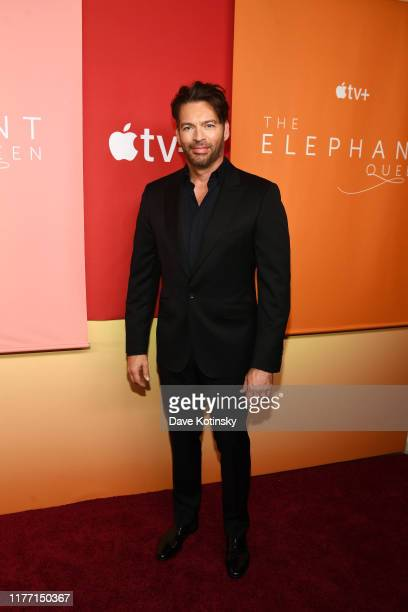 In recognition of Apple's commitment to protecting the planet Harry Connick Jr attends the premiere of Apple's acclaimed documentary The Elephant...