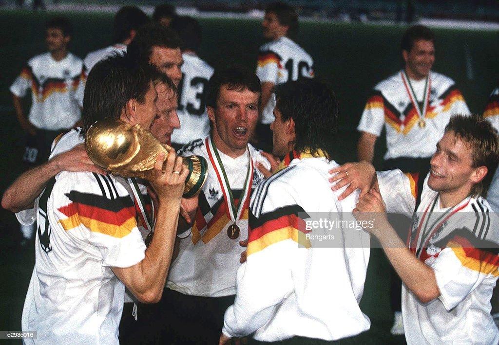 Wm 1990 In Rom Deutschland Wird Fussballweltmeister 1990 V