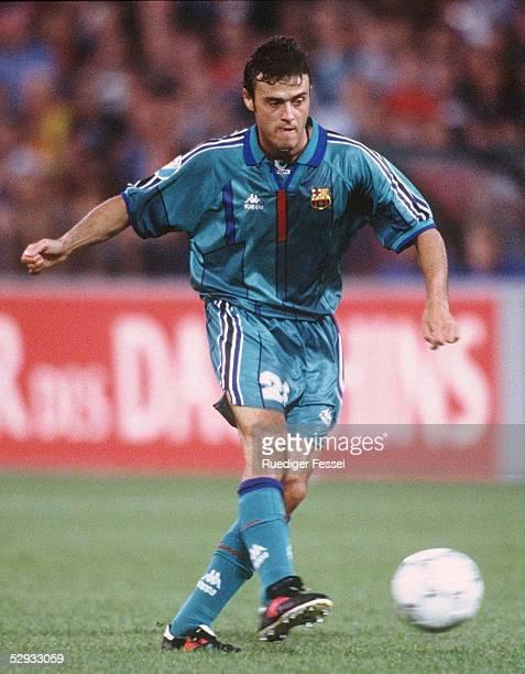 FINALE 140597 in ROTTERDAM FC BARCELONA PARIS ST GERMAIN 10 Luis ENRIQUE/BARCELONA