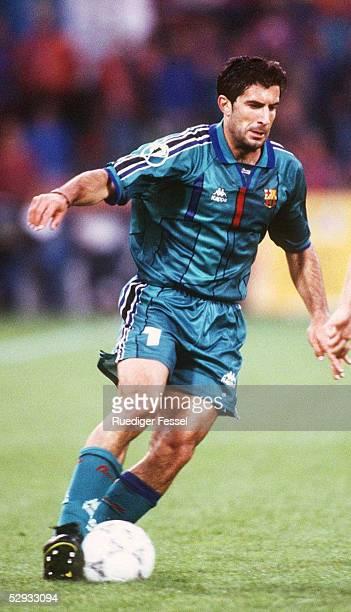 FINALE 140597 in ROTTERDAM FC BARCELONA PARIS ST GERMAIN 10 Luis FIGO/BARCELONA