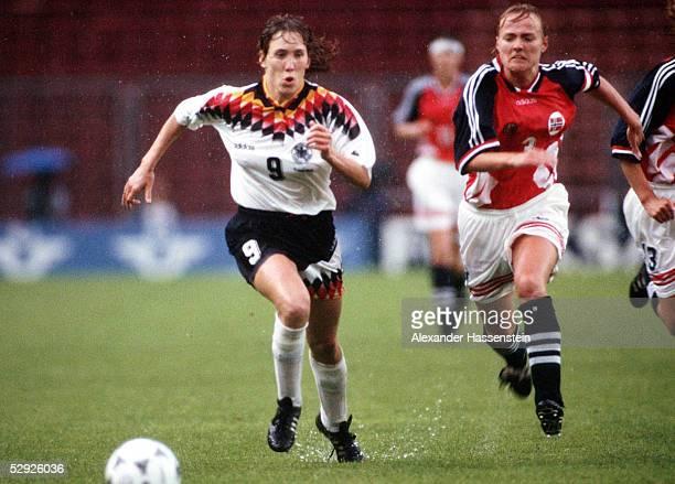 WM 1995 in Schweden Finale Deutschland Norwegen 02 Heidi MOHR/GER