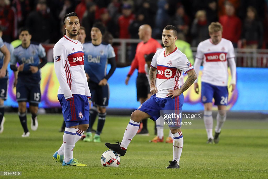 The TFC took on Vancouver at BMO field : News Photo