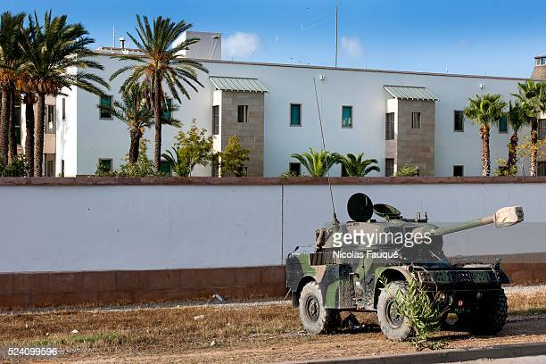 In September 15th, 2012: inventory of fixtures to the American embassy of Tunis after the attack of salafistes. About 70 burned vehicles and detruits...