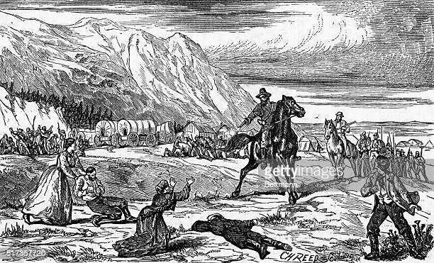 In September 1857 about 140 emigrants from Arkansas passing through Utah on the way to California were ambushed by Paiute Indians and Mormon settlers...