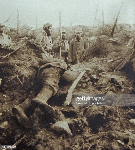 In September 1914 after the initial advance into France had been halted the Germans once again went on the offensive capturing land south of Verdun...
