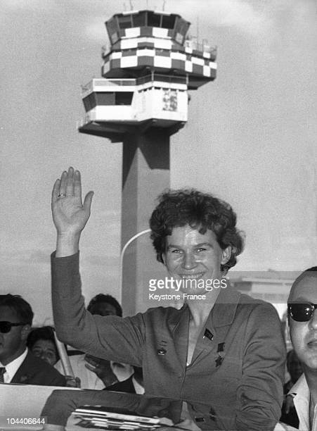 In September 1967 the Russian spacewoman Valentina TERESHKOVA the first woman in space arrived in Rome where she spent her vacation She was greeted...