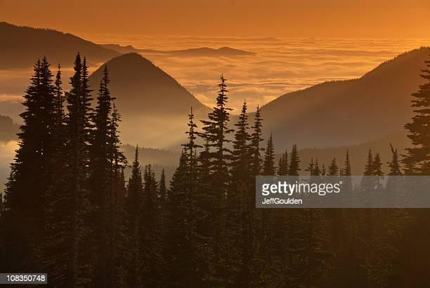 Tumtum Peak at Sunset