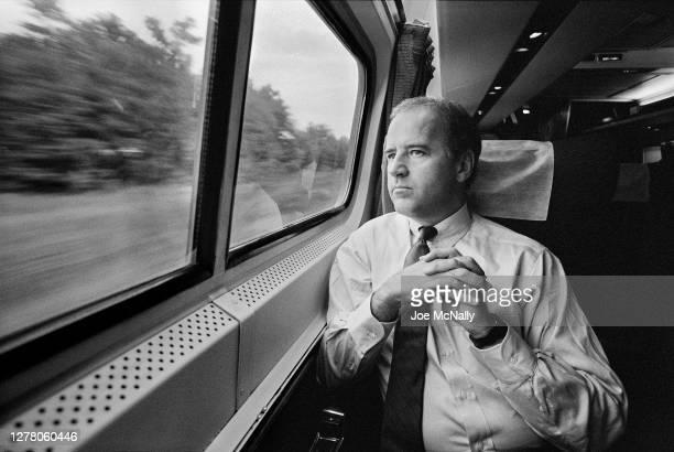 In September of 1988, then Senator Joe Biden on the metro liner to Washington DC. He was returning to work in the Senate having suffered an aneurysm,...