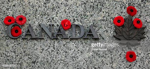 OTTAWA ON NOVEMBER 11 In Service of Canada was added to the War Memorial The nation's capital observes Remembrance Day at the National War Memorial...