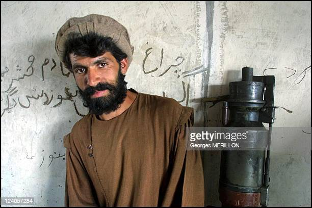 In Shamali Plains 30 km of Kabul the Kapisa frontline east from Bagram airport in Kabul Afghanistan on October 18 2001