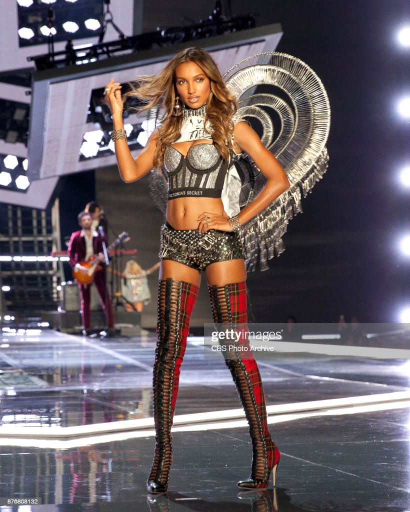 'THE VICTORIA'S SECRET FASHION SHOW' in Shanghai, China for the first time, at the Mercedes-Benz Arena, Broadcasting TUESDAY, NOV. 28, ON CBS. Pictured: Jasmine Tookes.