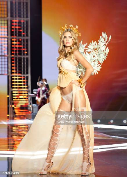 THE VICTORIA'S SECRET FASHION SHOW in Shanghai China for the first time at the MercedesBenz Arena Broadcasting TUESDAY NOV 28 ON CBS Pictured Megan...