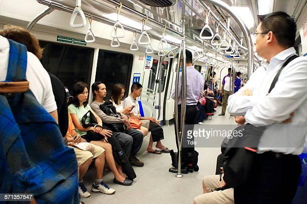 MRT In Singapore.