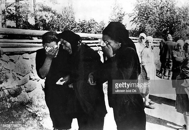 In Skugry am Wenige Stunden vorher im Schutz der Nacht töteten die Bolschewisten den Kirchenältesten des städtchens D im nördlichen Teil der Ostfront...