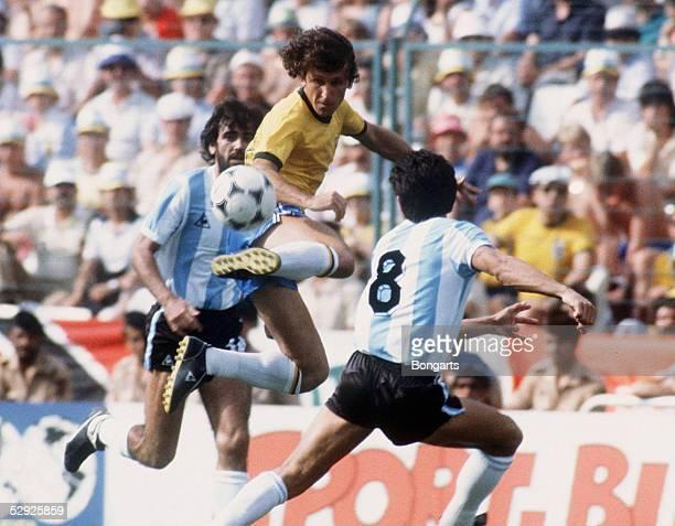 WM 1982 in SPANIEN Barcelona BRASILIEN ARGENTINEN 31 ZICO/BRA