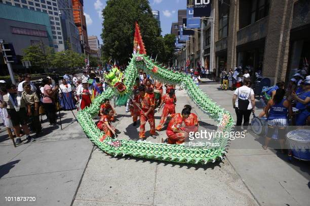 In spite of blistering summer heat Brooklyn Borough Hall Borough President Eric Adams celebrated the fifth annual International Friendship Day with a...