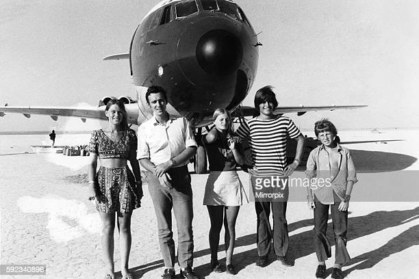 In spite of the seriousness of their predicament the Britons who were aboard the hijacked British Overseas Airways Corporation VC10 and have landed...