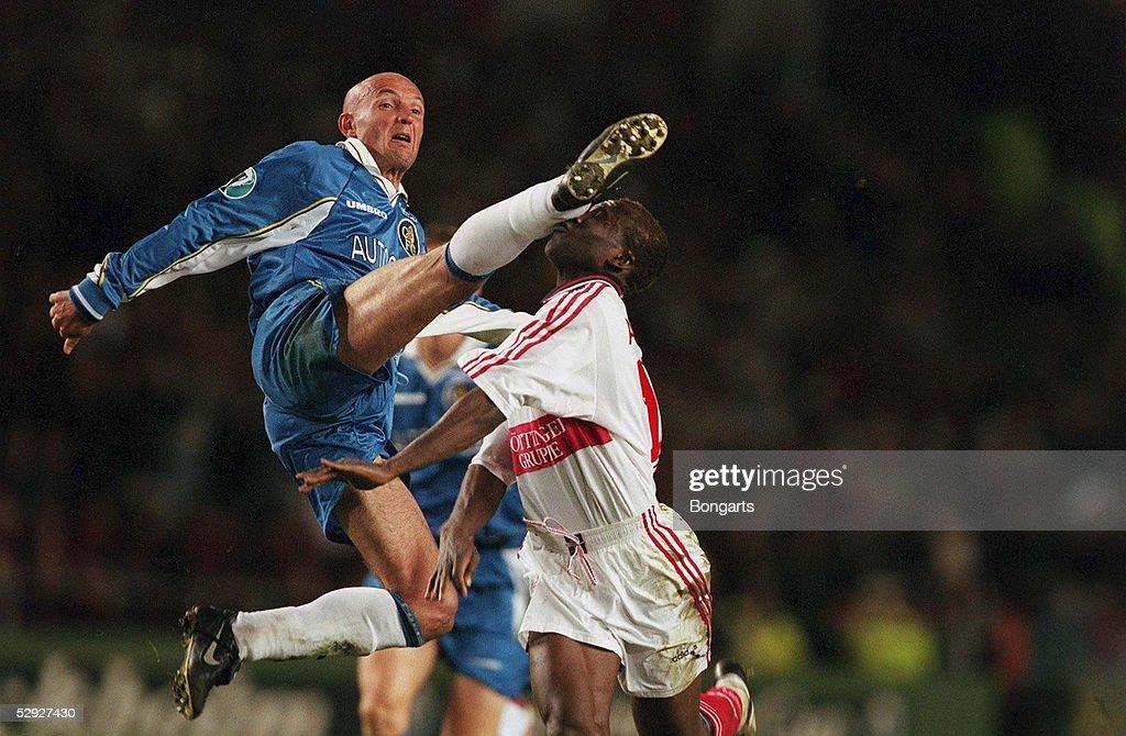 FUSSBALL: EUROPAPOKAL DER POKALSIEGER 97/98 FINALE in STOCKHOLM 13.05.98 : News Photo