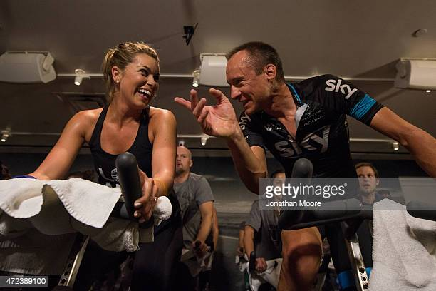 In support of Team Skys mission to get people around the world active and on their bikes 21st Century Fox hosted the SoulCycle Team Sky Pro Challenge...