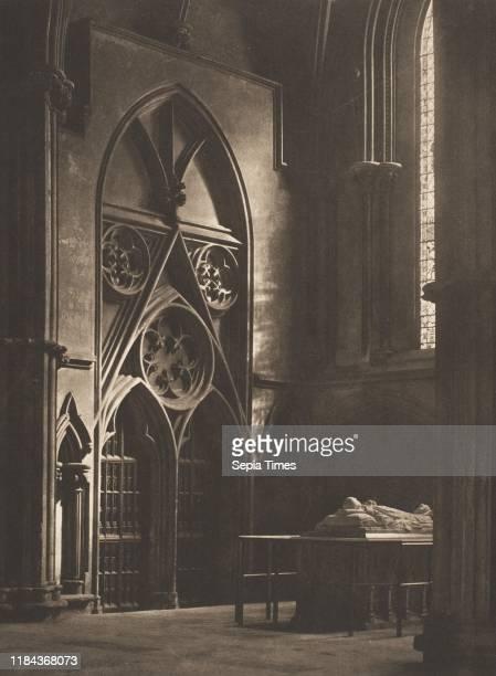 In Sure and Certain Hope' York Minster Platinum print Image 20 x 148 cm Photographs Frederick H Evans
