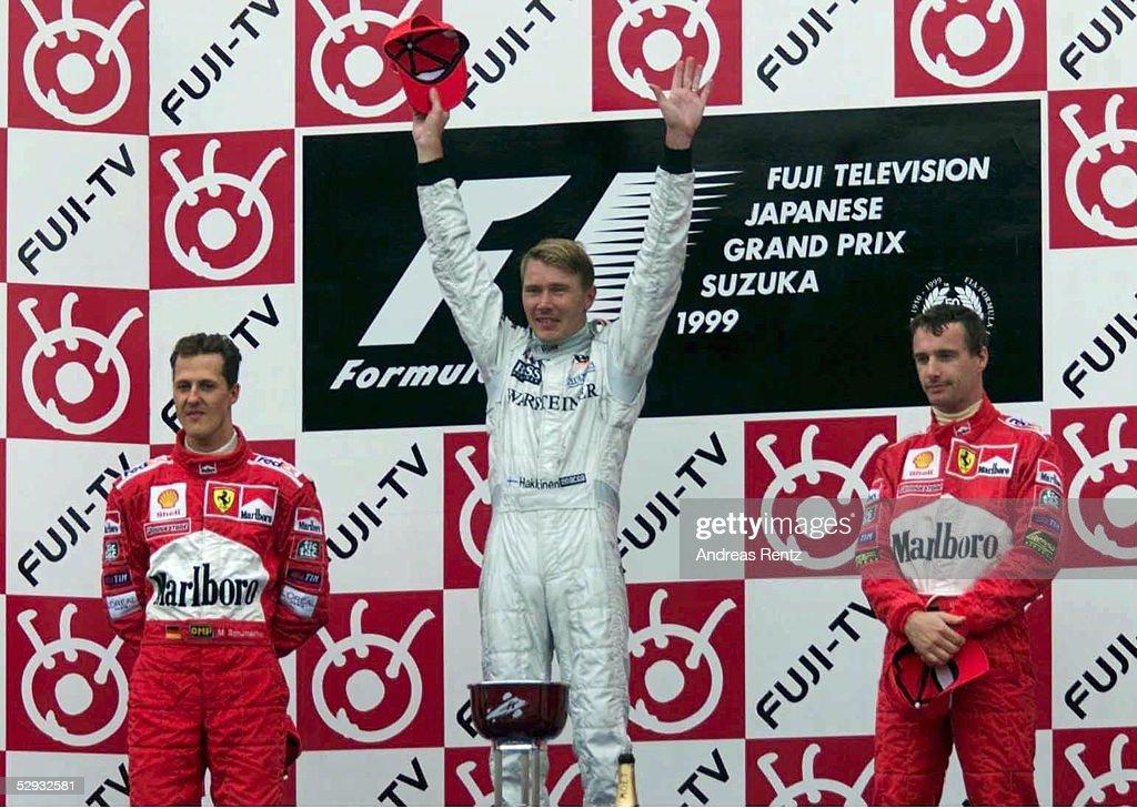 Mika HAKKINEN /GP VON JAPAN 1999 : ニュース写真