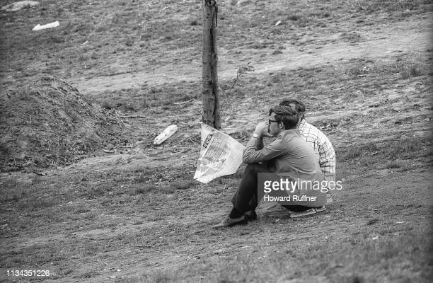 In the aftermath of the Ohio National Guard having opened fire on a student antiwar demonstration at Kent State University campus unidentified...