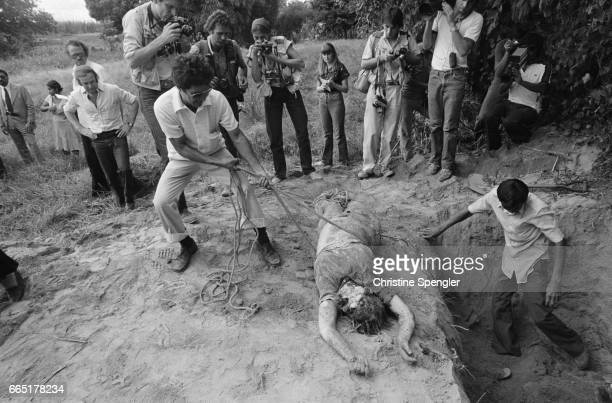 In the afternoon of December 2 American nuns Jean Donovan Dorothy Kazel Maura Clarke and Ita Ford were beaten raped and murdered by five members of...