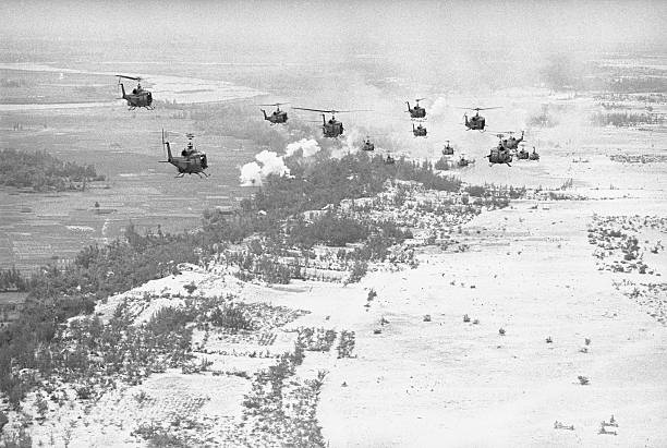 Soldiers Transported in Helicopters Pictures | Getty Images