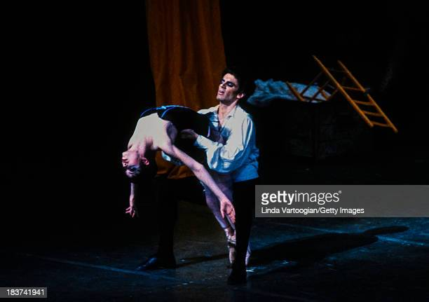 In the American Ballet Theater's production of 'Carmen' , American dancers Fernando Bujones and Susan Jaffe perform at the Metropolitan Opera House,...
