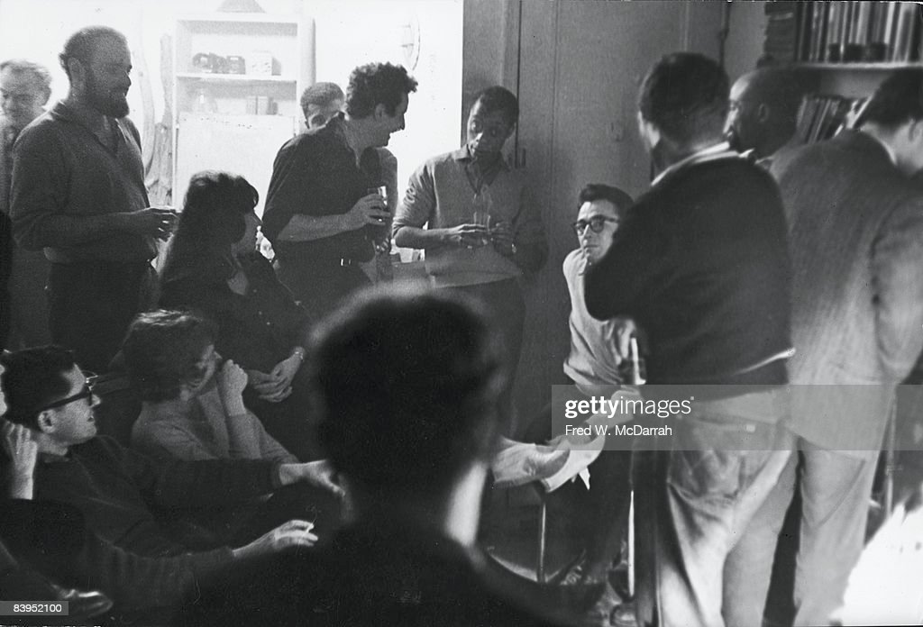 'The Funeral Of The Beat Generation' : News Photo