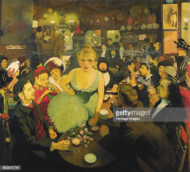 In the Aristide Bruant's Montmartre club Le Mirliton 18861887 Private Collection Artist Anquetin Louis